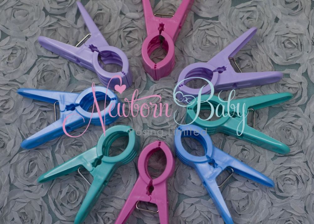 Fabric Backdrop Clamps Newborn Baby Posing Limited